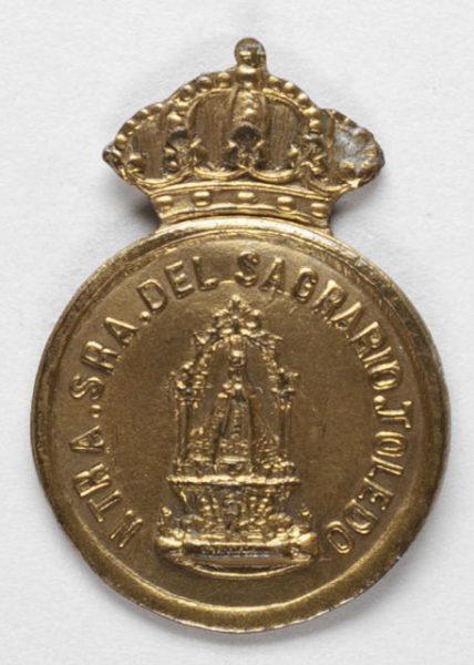 Luis Alba - Medalla de la Virgen del Sagrario - 112 anverso