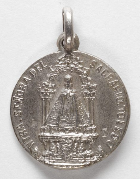 Luis Alba - Medalla de la Virgen del Sagrario - 114 anverso