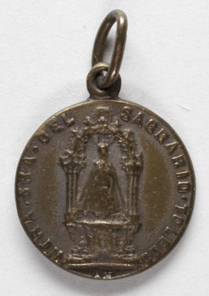 Luis Alba - Medalla de la Virgen del Sagrario - 116 anverso