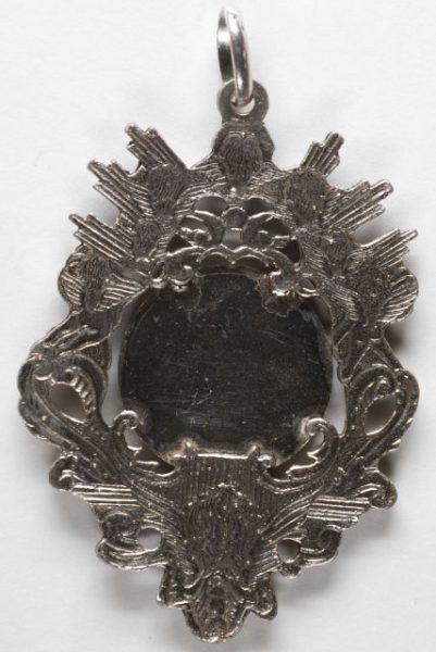 Luis Alba - Medalla de la Virgen del Sagrario - 117 reverso