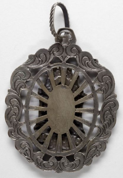 Luis Alba - Medalla de la Virgen del Sagrario - 119 reverso