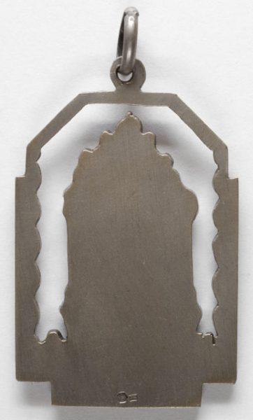 Luis Alba - Medalla de la Virgen del Sagrario - 121 reverso