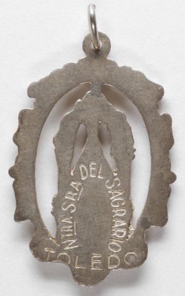 Luis Alba - Medalla de la Virgen del Sagrario - 123 reverso