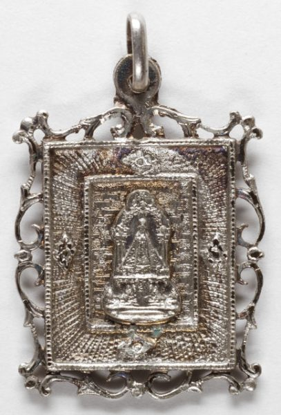 Luis Alba - Medalla de la Virgen del Sagrario - 124 anverso