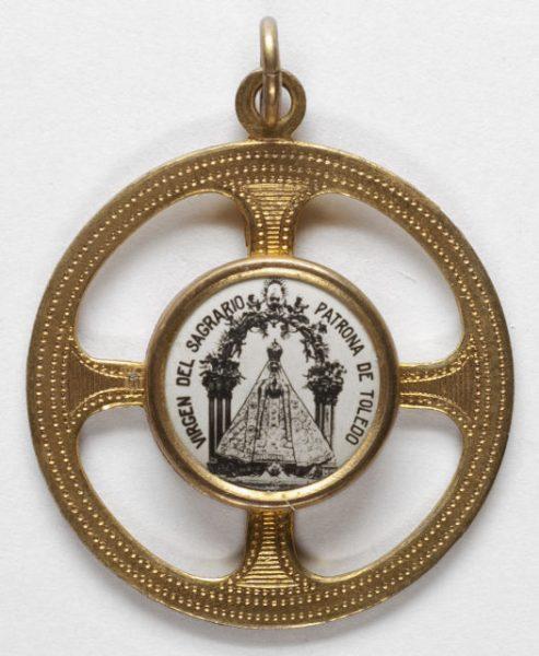Luis Alba - Medalla de la Virgen del Sagrario - 125 anverso