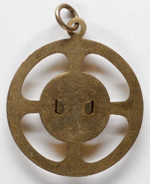 Luis Alba - Medalla de la Virgen del Sagrario - 125 reverso