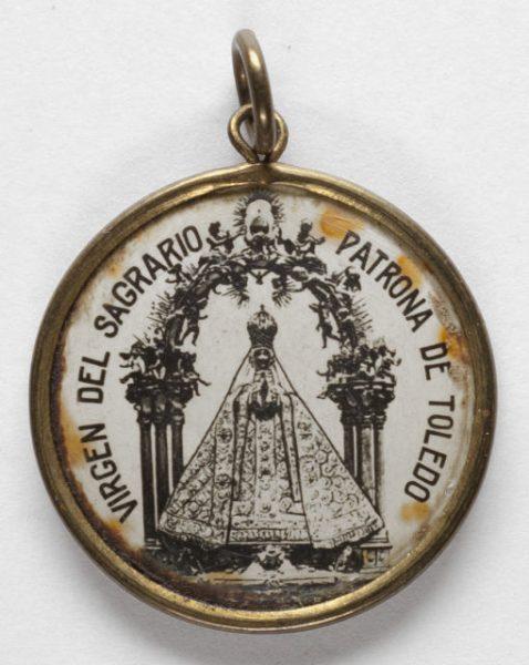 Luis Alba - Medalla de la Virgen del Sagrario - 126 anverso
