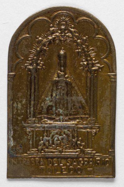 Luis Alba - Medalla de la Virgen del Sagrario - 128 anverso