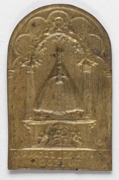 Luis Alba - Medalla de la Virgen del Sagrario - 128 reverso