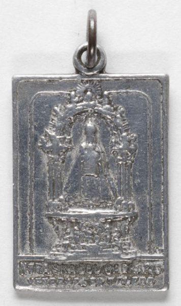 Luis Alba - Medalla de la Virgen del Sagrario - 129 anverso