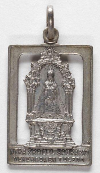 Luis Alba - Medalla de la Virgen del Sagrario - 130 anverso