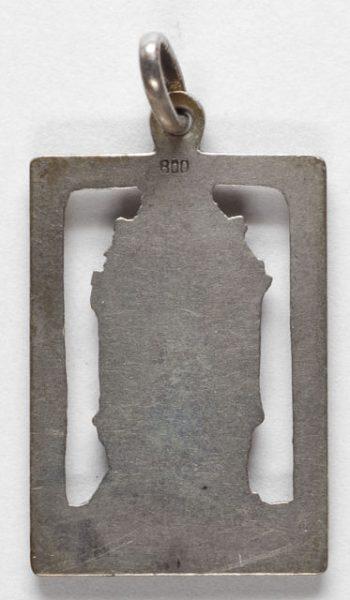 Luis Alba - Medalla de la Virgen del Sagrario - 130 reverso