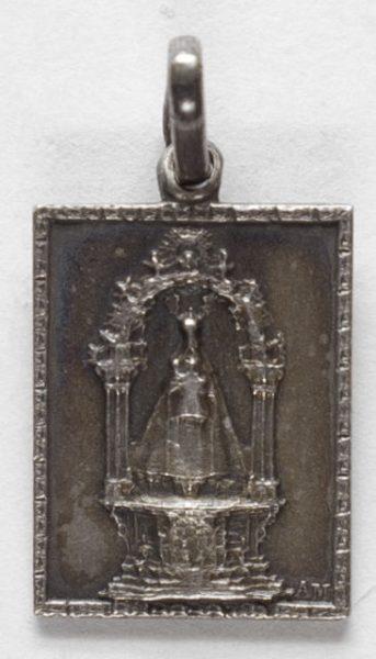 Luis Alba - Medalla de la Virgen del Sagrario - 136 anverso