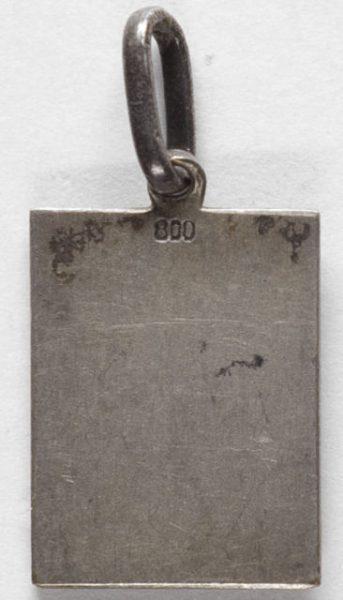 Luis Alba - Medalla de la Virgen del Sagrario - 136 reverso