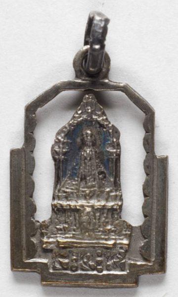 Luis Alba - Medalla de la Virgen del Sagrario - 137 anverso