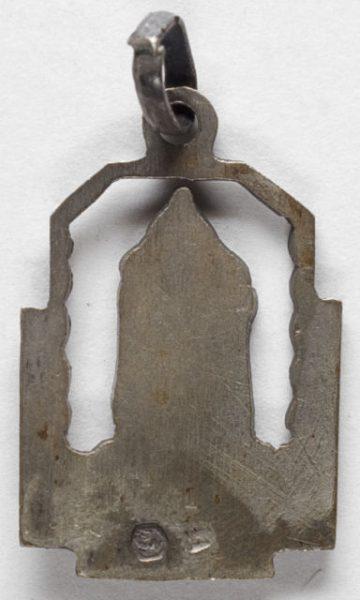 Luis Alba - Medalla de la Virgen del Sagrario - 137 reverso