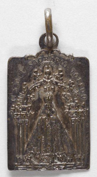 Luis Alba - Medalla de la Virgen del Sagrario - 139 anverso