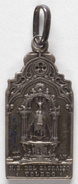 Luis Alba - Medalla de la Virgen del Sagrario - 140 anverso