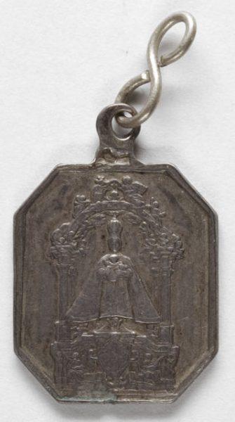 Luis Alba - Medalla de la Virgen del Sagrario - 143 anverso