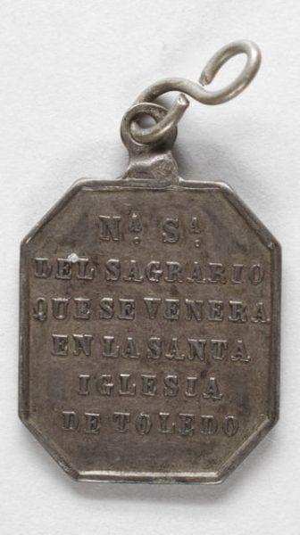 Luis Alba - Medalla de la Virgen del Sagrario - 143 reverso