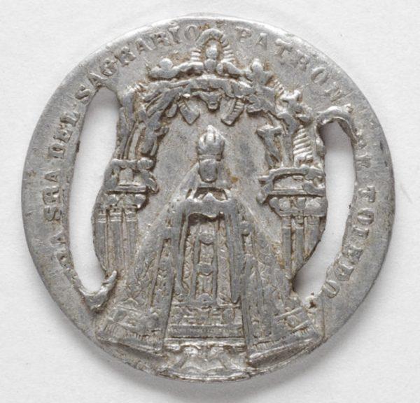 Luis Alba - Medalla de la Virgen del Sagrario - 145 anverso