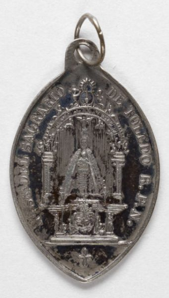 Luis Alba - Medalla de la Virgen del Sagrario - 147 anverso