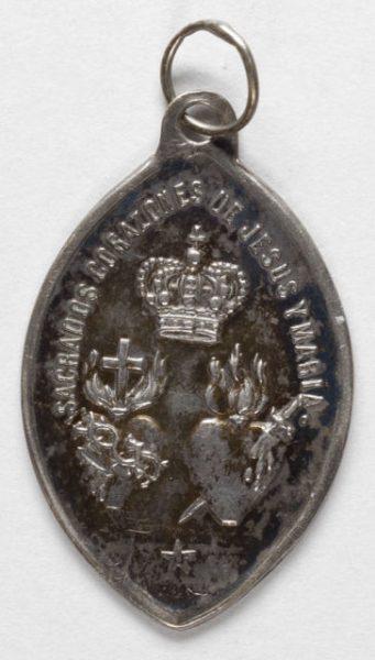 Luis Alba - Medalla de la Virgen del Sagrario - 147 reverso