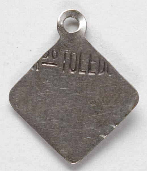 Luis Alba - Medalla de la Virgen del Sagrario - 149 reverso