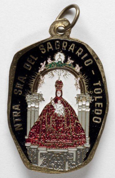 Luis Alba - Medalla de la Virgen del Sagrario - 151 anverso