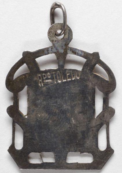 Luis Alba - Medalla de la Virgen del Sagrario - 152 reverso