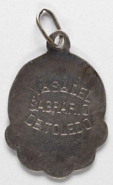 Luis Alba - Medalla de la Virgen del Sagrario - 153 reverso