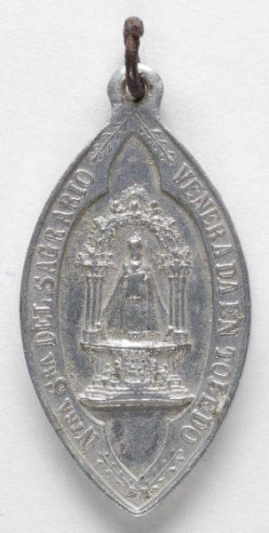 Luis Alba - Medalla de la Virgen del Sagrario - 155 anverso