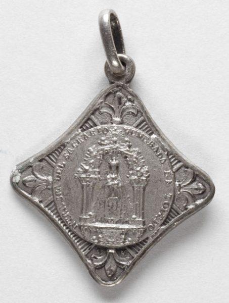 Luis Alba - Medalla de la Virgen del Sagrario - 156 anverso