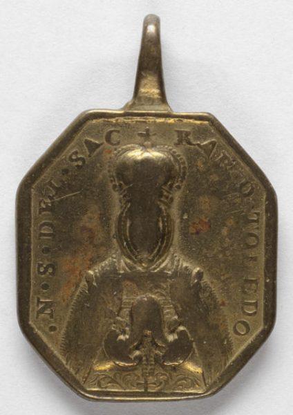 Luis Alba - Medalla de la Virgen del Sagrario - 160 anverso