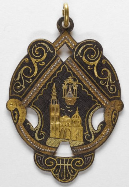 Luis Alba - Medalla de la Virgen del Sagrario - 161 anverso