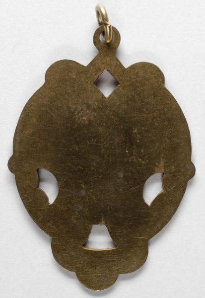 Luis Alba - Medalla de la Virgen del Sagrario - 161 reverso
