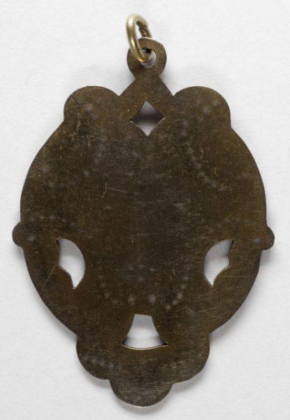 Luis Alba - Medalla de la Virgen del Sagrario - 162 reverso