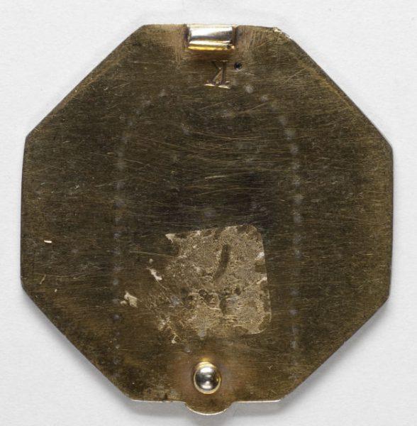 Luis Alba - Medalla de la Virgen del Sagrario - 163 reverso