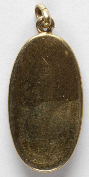 Luis Alba - Medalla de la Virgen del Sagrario - 166 reverso
