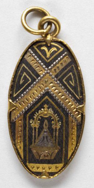 Luis Alba - Medalla de la Virgen del Sagrario - 167 anverso