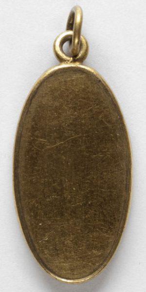 Luis Alba - Medalla de la Virgen del Sagrario - 167 reverso