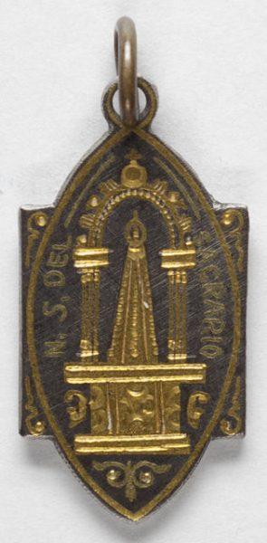 Luis Alba - Medalla de la Virgen del Sagrario - 169 anverso