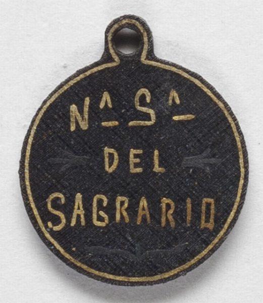 Luis Alba - Medalla de la Virgen del Sagrario - 171 reverso
