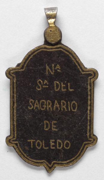 Luis Alba - Medalla de la Virgen del Sagrario - 172 reverso