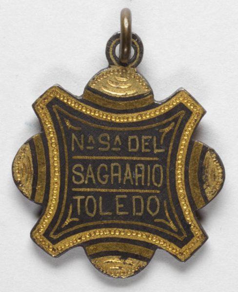 Luis Alba - Medalla de la Virgen del Sagrario - 174 reverso