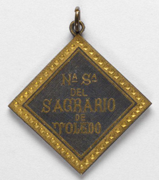 Luis Alba - Medalla de la Virgen del Sagrario - 175 reverso