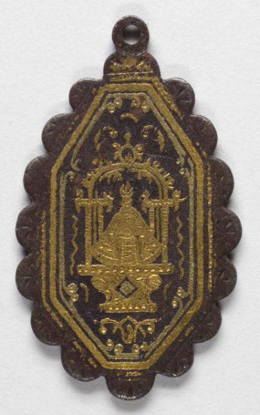 Luis Alba - Medalla de la Virgen del Sagrario - 176 anverso