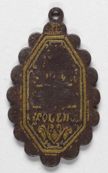 Luis Alba - Medalla de la Virgen del Sagrario - 176 reverso