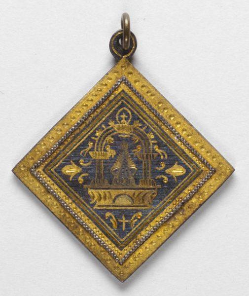 Luis Alba - Medalla de la Virgen del Sagrario - 177 anverso