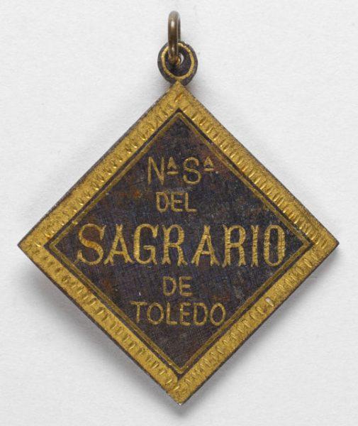 Luis Alba - Medalla de la Virgen del Sagrario - 177 reverso